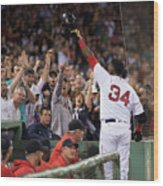 Baltimore Orioles V Boston Red Sox 8 Wood Print