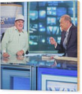 Baseball Legend Pete Rose Visits Stuart Wood Print