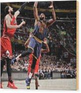 Chicago Bulls V Cleveland Cavaliers 8 Wood Print