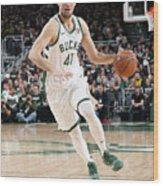 Detroit Pistons V Milwaukee Bucks - Wood Print