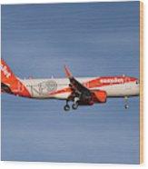 Easyjet Neo Livery Airbus A320-251n Wood Print