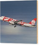 Ernest Airbus A320-233 Wood Print