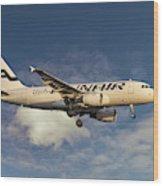 Finnair Airbus A319-112 Wood Print