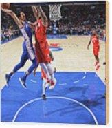 Houston Rockets V Philadelphia 76ers Wood Print