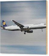 Lufthansa Airbus A321-231 Wood Print