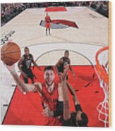Milwaukee Bucks V Portland Trail Blazers Wood Print