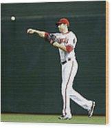New York Mets V Arizona Diamondbacks Wood Print