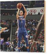 Philadelphia 76ers V Charlotte Hornets Wood Print