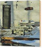 Teijo Ironworks Wood Print