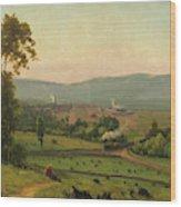 The Lackawanna Valley Wood Print