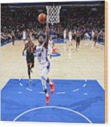 Toronto Raptors V Philadelphia 76ers Wood Print