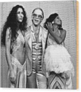 Mark Sullivan 70s Rock Archive Wood Print