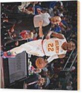 Atlanta Hawks V Detroit Pistons Wood Print