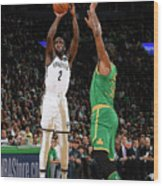Brooklyn Nets V Boston Celtics Wood Print