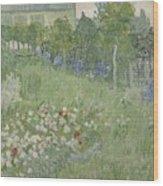 Daubignys Garden  Wood Print