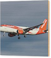 Easyjet Airbus A320-214 Wood Print