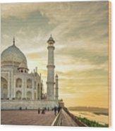 India, Uttar Pradesh Wood Print