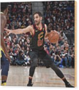 Indiana Pacers V Cleveland Cavaliers - Wood Print