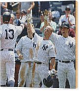 Kansas City Royals V New York Yankees Wood Print
