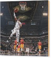 Memphis Grizzlies V Indiana Pacers Wood Print