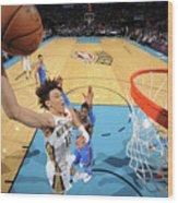 New Orleans Pelicans V Oklahoma City Wood Print