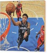 New Orleans Pelicans V Orlando Magic Wood Print
