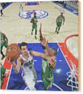 Philadelphia 76ers V Boston Celtics Wood Print