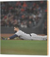 San Diego Padres V San Francisco Giants Wood Print
