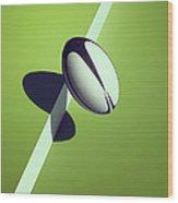 Sports Shadow Wood Print