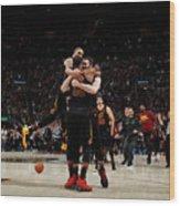 Toronto Raptors V Cleveland Cavaliers - Wood Print