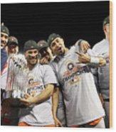 World Series - Houston Astros V Los Wood Print