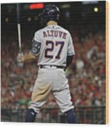 World Series - Houston Astros V Wood Print