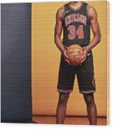 2018 Nba Rookie Photo Shoot Wood Print