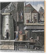 A Brewhouse, 1747 Wood Print