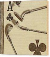 A Classic Round Wood Print