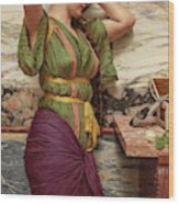 A Fair Reflection, 19th Century Wood Print