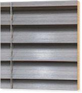 A Modern Blind Wood Print