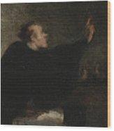 A Trial Lawyer, 1853-1854 Wood Print