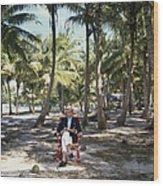 Abaco Islander Wood Print