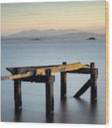 Aberdour Pier Wood Print