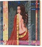 Abhisarika 2 Wood Print
