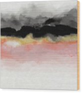 Abiding 1- Art By Linda Woods Wood Print