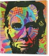 Abraham Lincoln Yeah Bro Wood Print