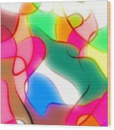 Abstract G1 Wood Print
