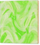 Abstract Waves Painting 0010076 Wood Print