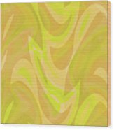 Abstract Waves Painting 0010091 Wood Print