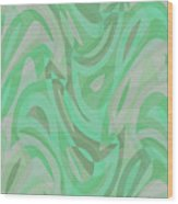 Abstract Waves Painting 0010092 Wood Print