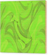 Abstract Waves Painting 0010093 Wood Print