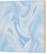 Abstract Waves Painting 007182 Wood Print