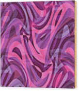 Abstract Waves Painting 007200 Wood Print